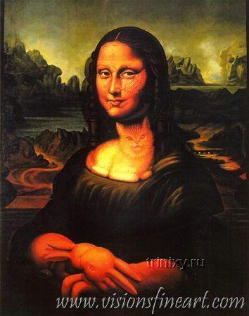 Интересная подборка рисунков-иллюзий (32 штуки)
