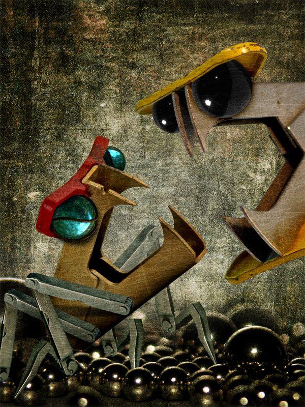 Креативное творчество от Juan Carlos Federico (38 работ)