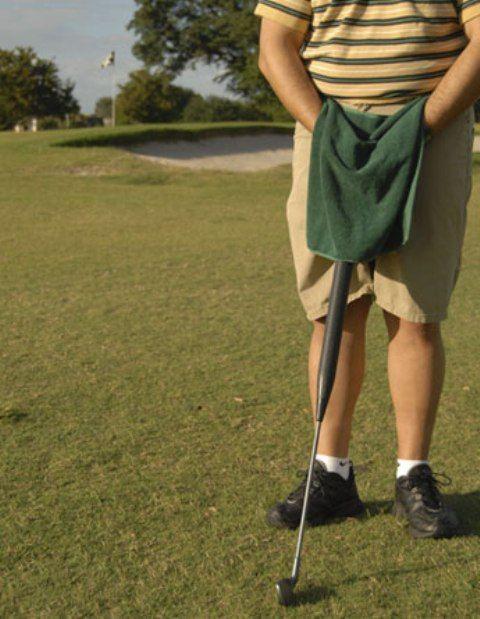 Как справить нужду на поле для гольфа (4 фото)