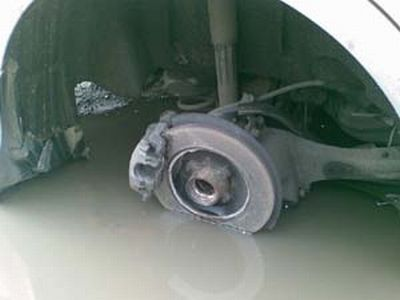Ford Focus II - отваливающиеся колеса (23 фото + текст)