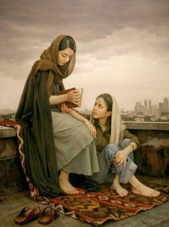 Работы иранского художника Iman Maleki (23 фото)
