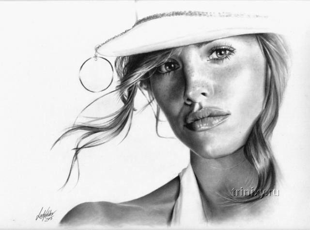 Рисунки карандашом (39 фото)