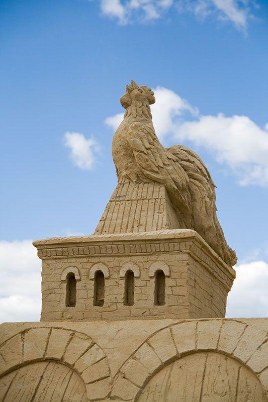 Сказочный городок из песка (50 фото)