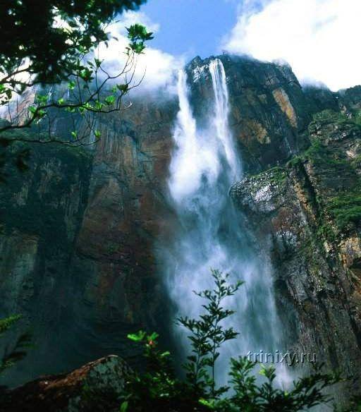 Водопад Ангелов в Венесуэле - самый высокий в мире (24 фото)