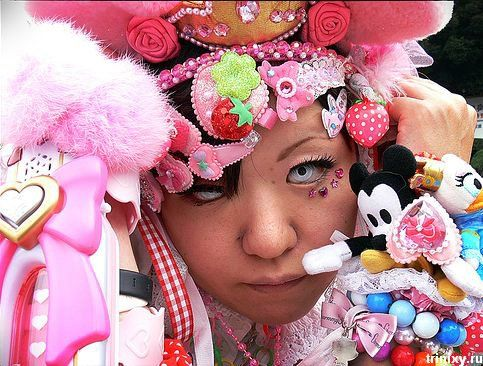 Японская Harajuku Fashion (53 фото)