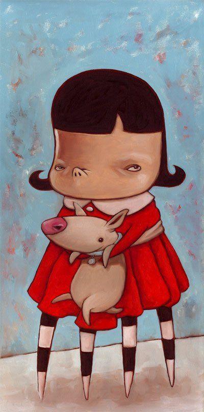 Не добрые рисунки Kathie Olivas (59 фото)