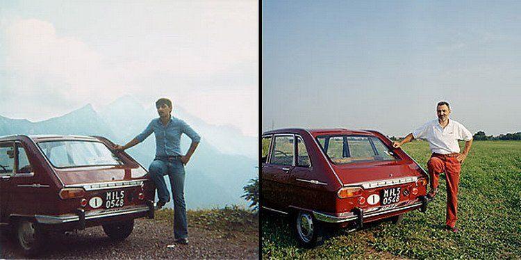 Автомобили и их владельцы 20 лет спустя (9 фото)