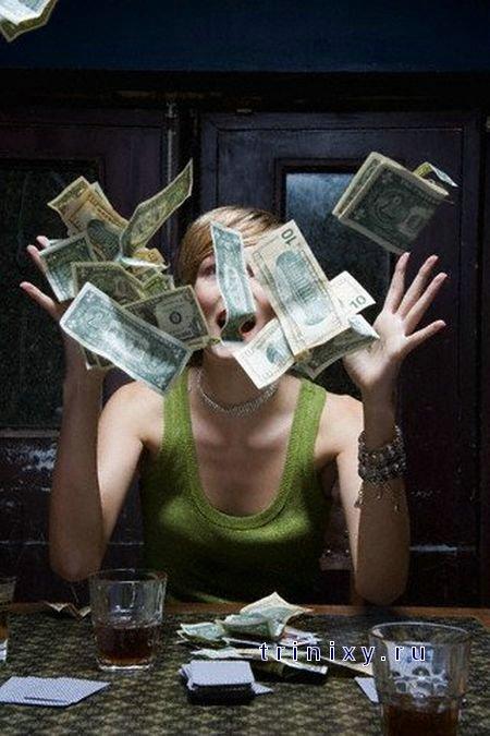 День, смешные картинки деньги и женщина