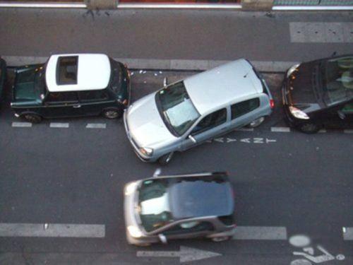 Настоящий мастер парковки (5 фото)