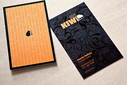 Итак, на визитки, как и на любую вещь, оказывается, есть мода.