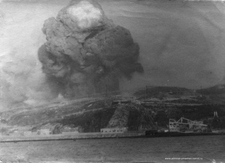 Взрыв в Североморске. 17 мая 1984 года (3 фото + текст)