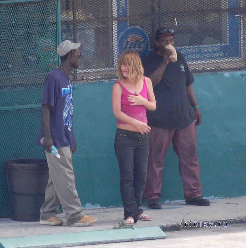 наркоманки и проститутки