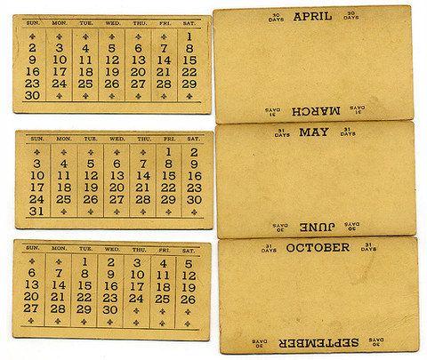 Календари бывают разные (43 фото)