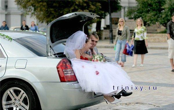 В продолжении большая подборка прикольных свадебных фото.