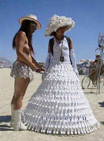 Самые необычные свадьбы (72 фото)