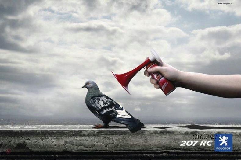 Подборка креативной рекламы