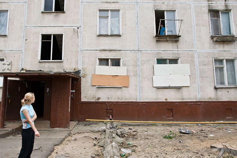 """В Москве сносят """"хрущевки"""" (17 фото)"""
