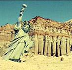 Занесет ли Статую Свободы песком?