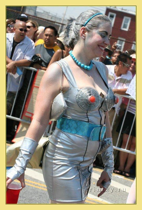 Парад русалок в Нью-Йорке (57 фото) Есть НЮ