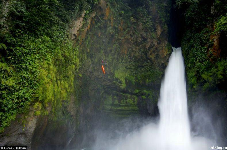Фотографии безумных прыжков (6 фото)
