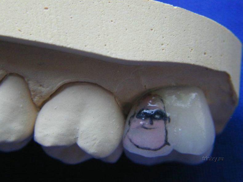 Татушки для зубов (26 фото)