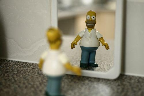 Приключения Гомера Симпсона в современном мире (60 фото)