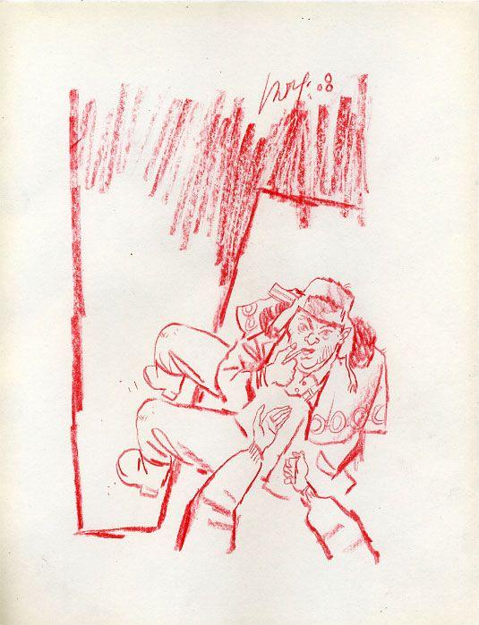 Яркие зарисовки цветными карандашами (37 рисунков)