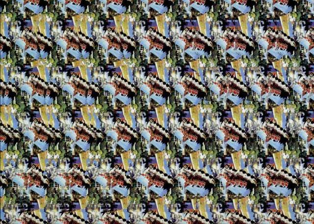 Большая подборка стереограмм (100 штук)