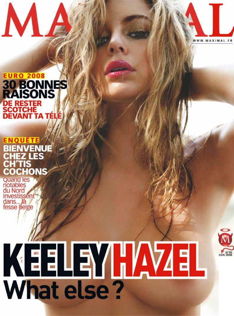 Кили Хазелл (Keeley Hazell) в журнале Maxim (4 скана) НЮ