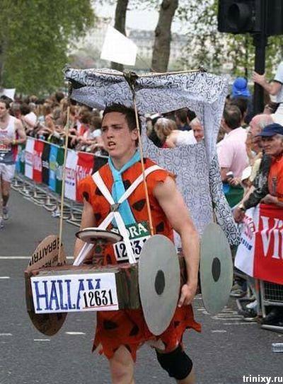 Круто! Прикольные костюмы участников марафона (15 фото)