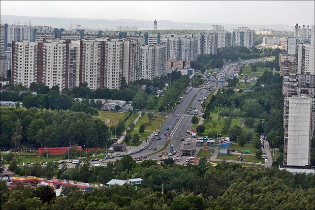 Москва с высоты птичего полета (78 фото)