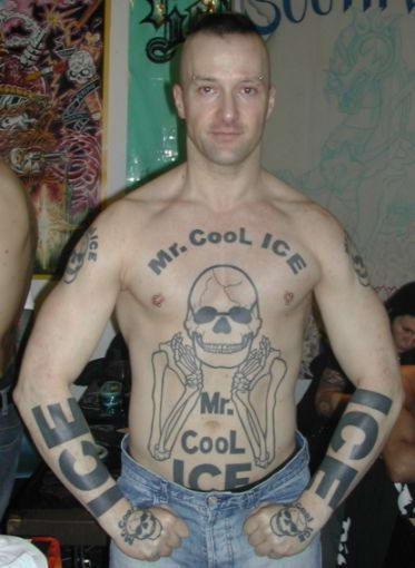 Парад некрасивых татуировок (34 фото)