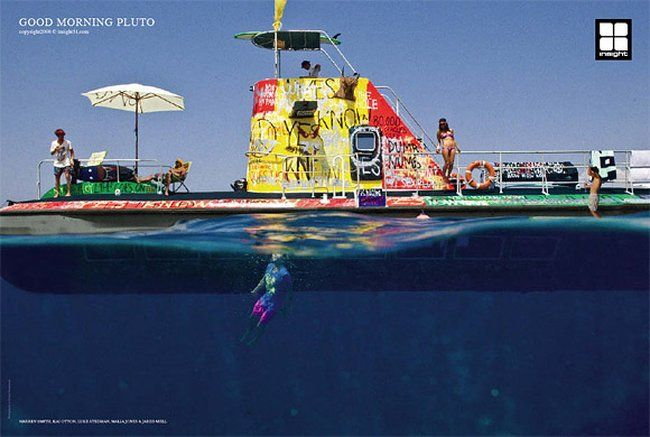Креативная реклама самого маленького континента (19 фото)