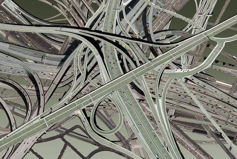 Варианты дорожной развязки на Московской площади (10 фото)