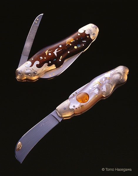 ХАРУМИ ХИРАЯМА - создательница ножей-шедевров (42 фото)