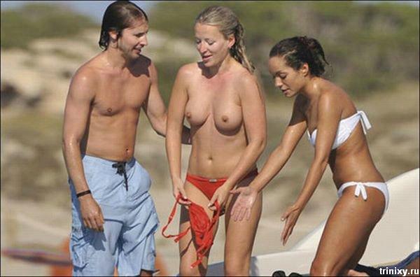 Джеймс Блант и девушки на яхте (7 фото) НЮ