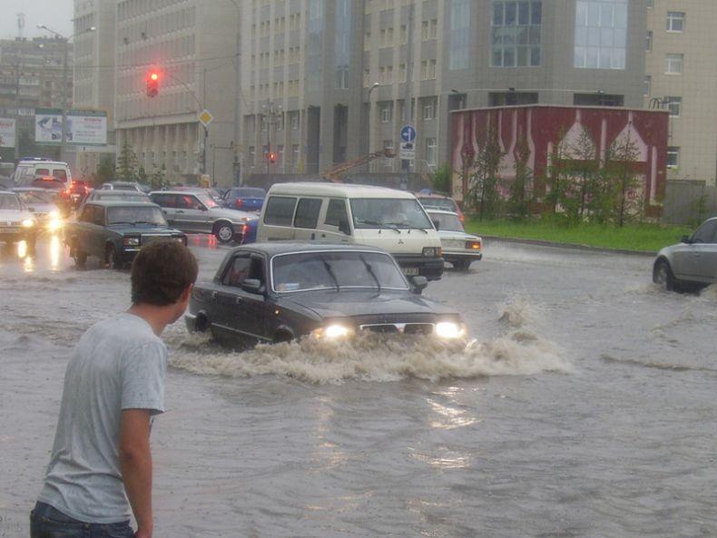 Казань затопило (57 фото)