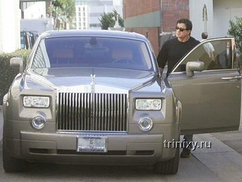 На каких автомобилях ездят знаменитости (26 фото)
