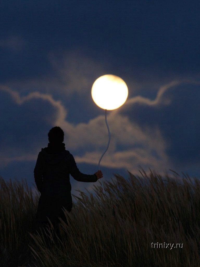 Лунный креатив (43 фото)