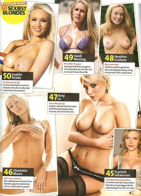 50 самых сексуальных блондинок 2008 года (9 сканов)
