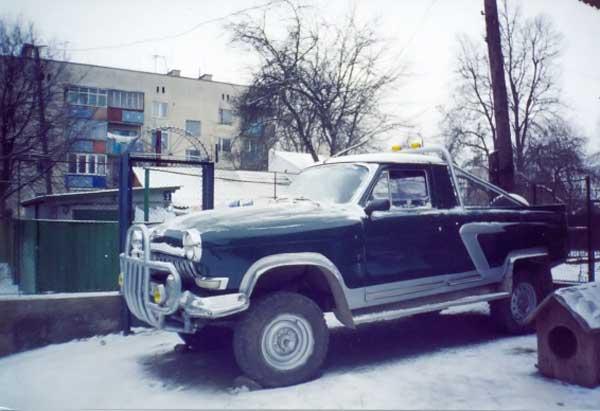 Переделанные отечественные автомобили своими руками 71
