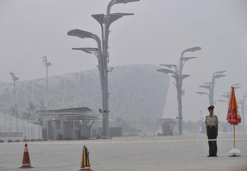 Китай готов принять Олимпиаду? (5 фото)
