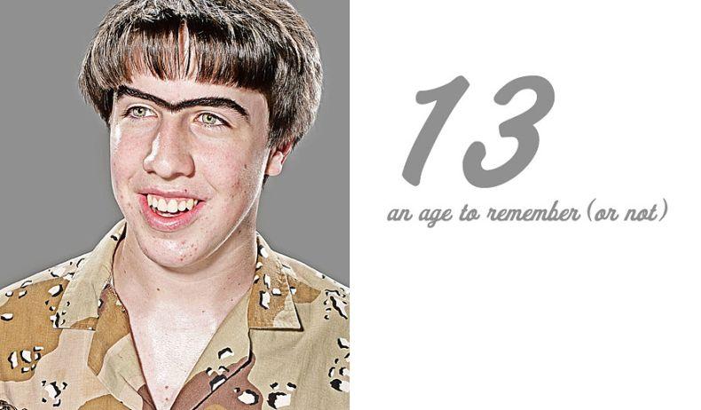 Лица переходного возраста (13 фото)