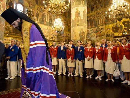 Олимпийская сборная России в Кремле (15 фото)