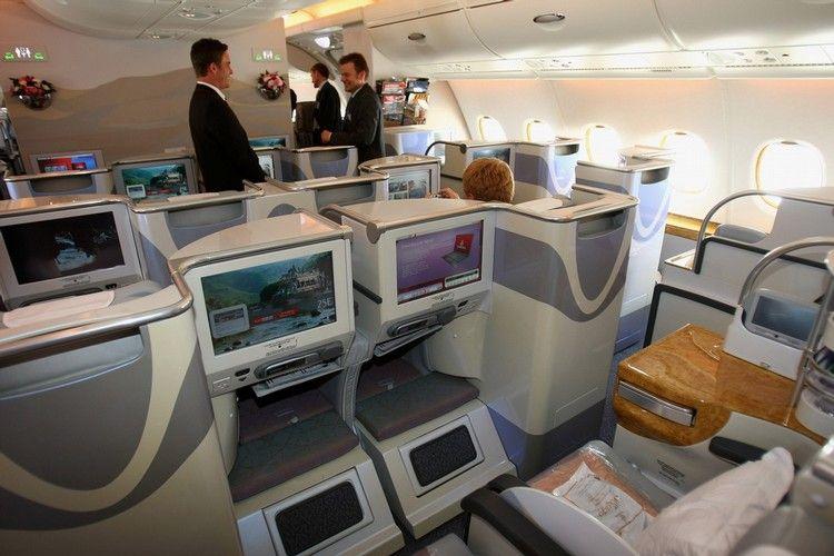 Airbus A380 - шикарный самолет (7 фото)