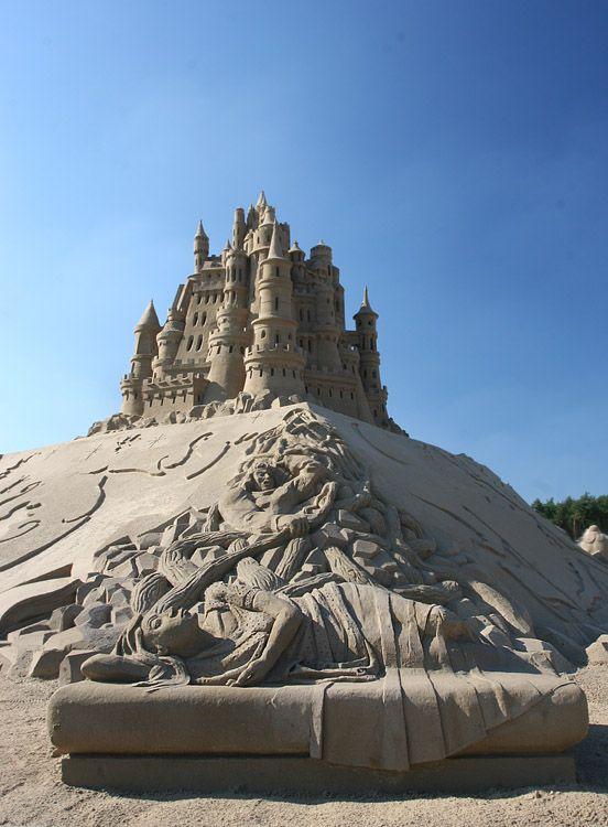 Произведения из песка (51 фото)