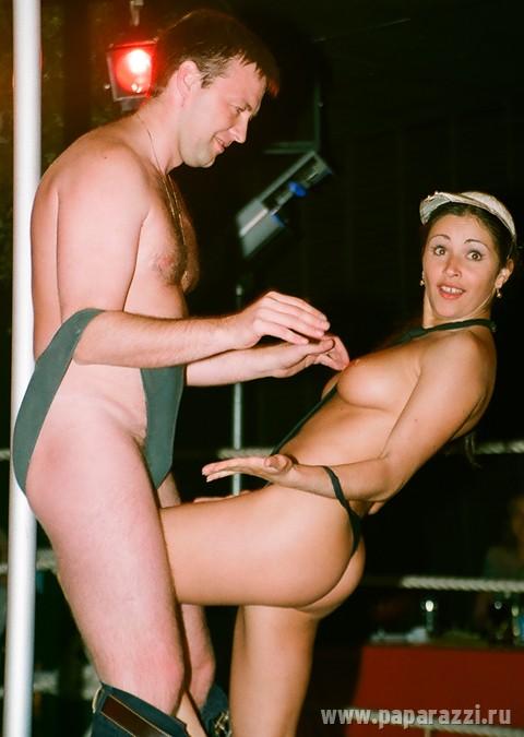 Редкие кадры. В 1999м году Любовь Тихомирова работала стриптизершей (8 фото)