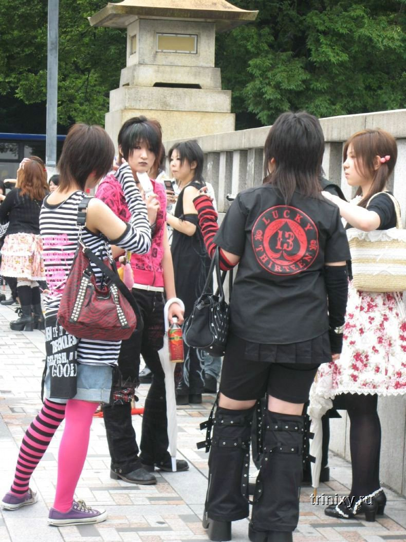 Японская уличная мода (60 фото)