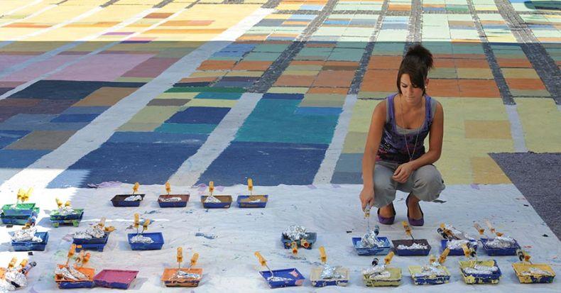 Кандинский на площади (6 фото)