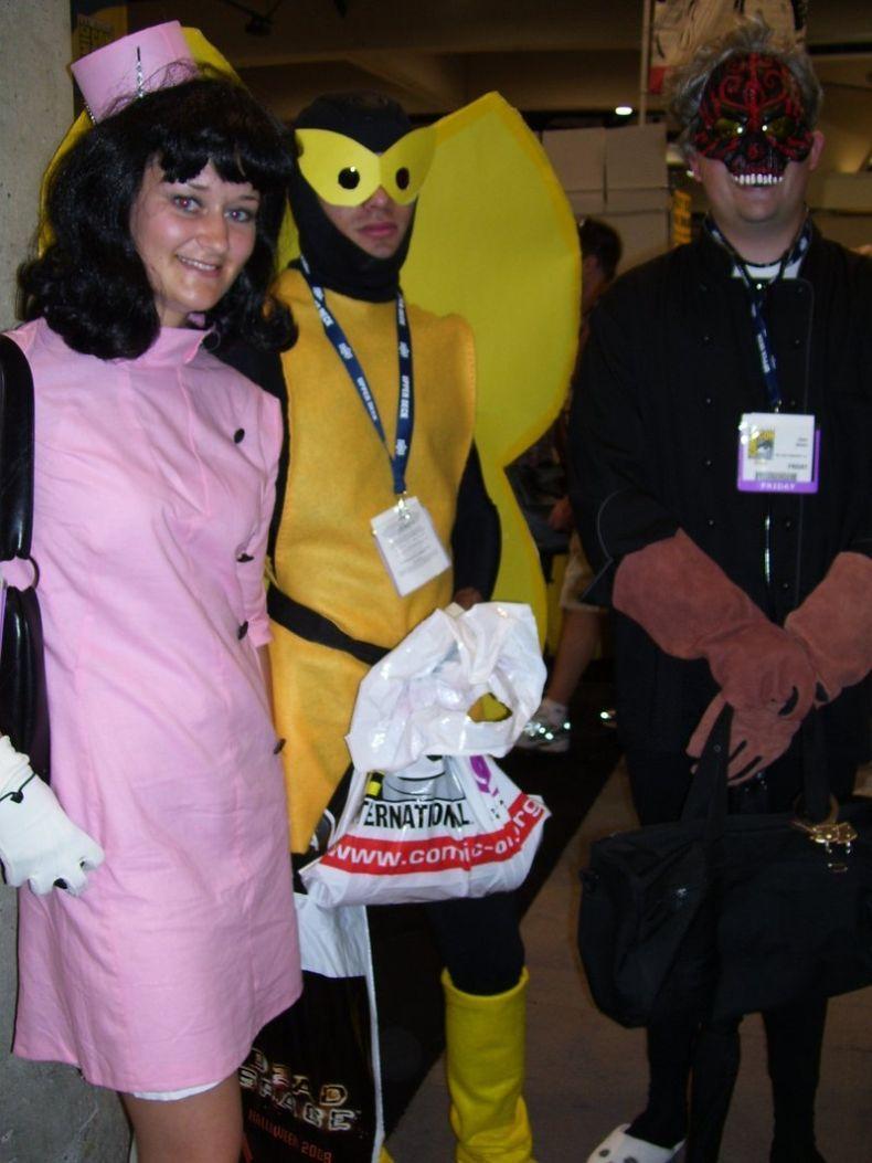 Выставка необычных костюмов (58 фото)